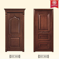 2 or 3 Panel Single Wooden Doors, Newest Simple Doors Design