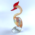 clear hand blown glass figurines animals ornaments