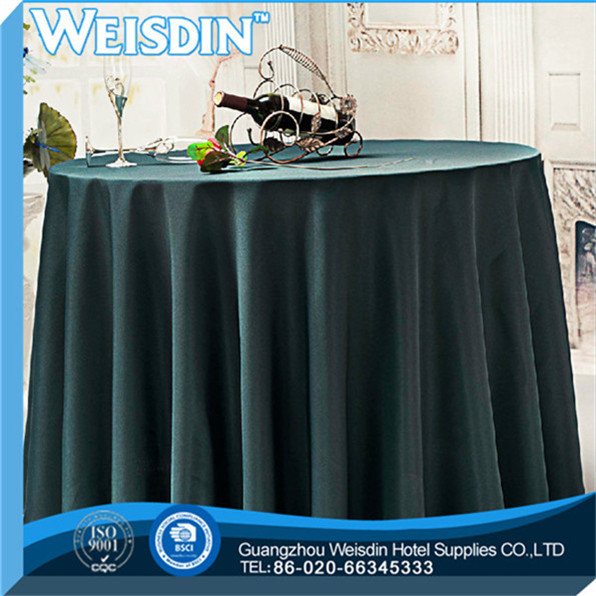 woven wholesale Printed linen decorative cheap vinyl tablecloth