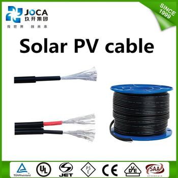 TUV / UL approved PV cables with connector assemblies MC4 series