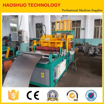 Factory for transformer fin wall panels producing machines