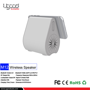 Custom White Best Portable Outdoor Bluetooth Speakers For Gift