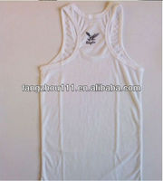 cheapest pure cotton white vest, tank top for woman