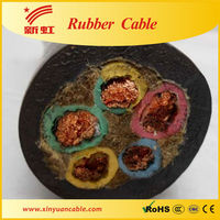 Rubber insulated underground cable ratings