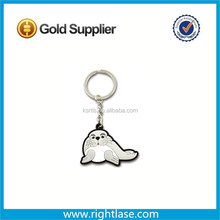 Make Your Own Logo rubber 3D Key Chain Parts, Wholesale souvenir Custom Keychain Manufacturers In China/cute seal