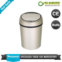 plastic garbage bin with wheels car waste bin
