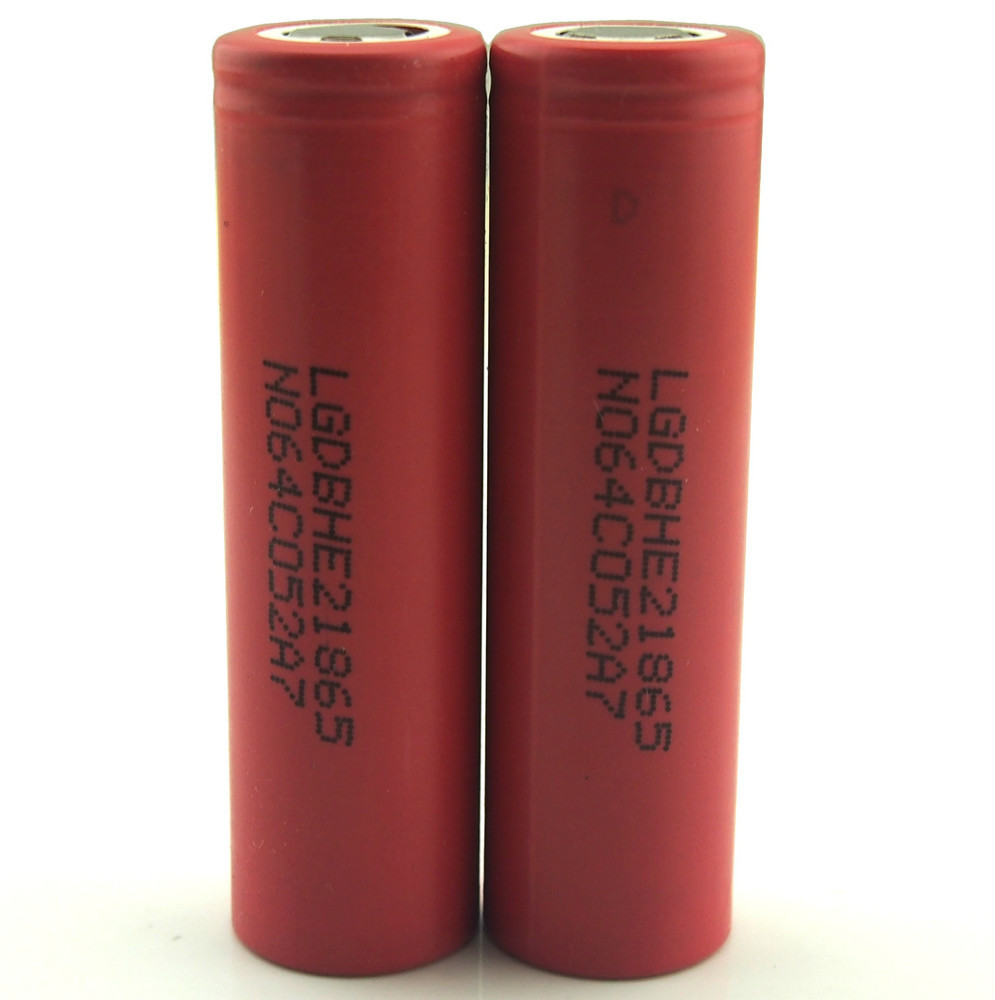New products 2015 LG he2 18650 battery, LG he4 3.7v rechargeable battery