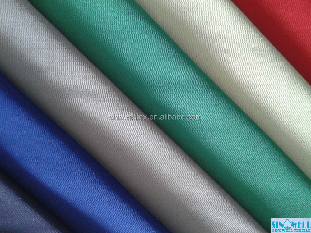 T/C 65/35 or 80/20 21x16 120x60 3/1 twill finishing fabric in width 150cm with special finishing process