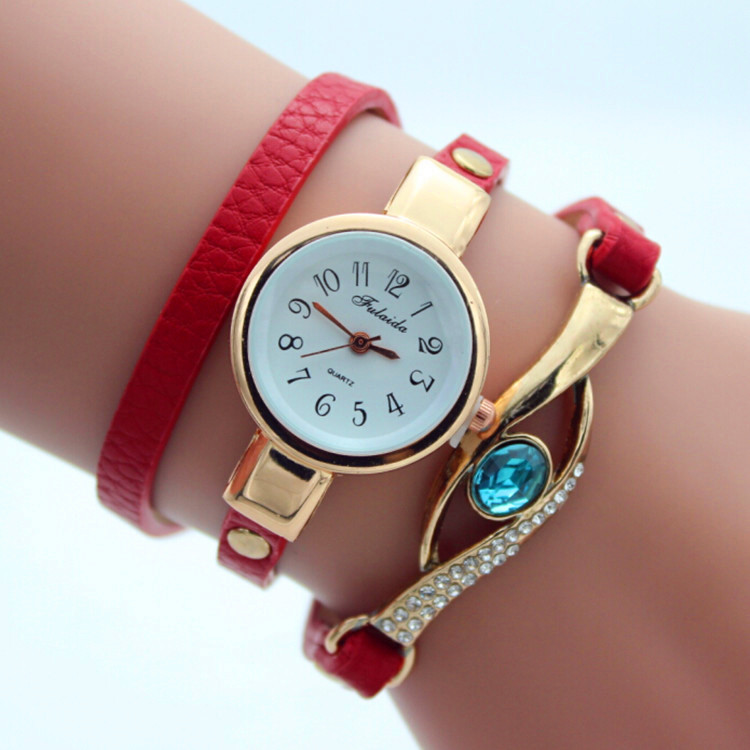 Fashion watch bracelet ladies watches leather watches for women