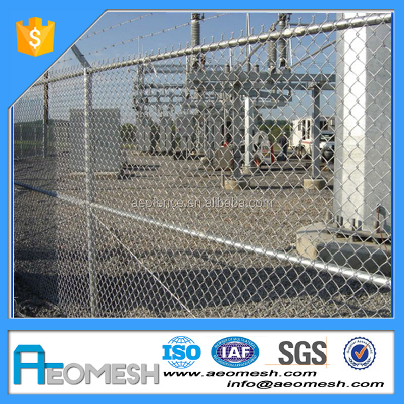 Cheap Price Hot Sale Hot-dipped Galvanized Chain Link Fence Football Field Fence Post