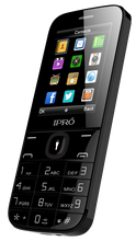 Ipro i324F China manufacturer simple bar mobile phone 2.4 inch QVGA feature cheap phones for sale multicolors