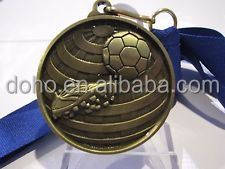 custom personalized medals gift Fast delivery OEM customize metal Football match soccer medal