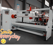 2017 hot sale pvc/film/elecrtic/masking/double-side/cloth/scotch/kraft tape roll cutting machine