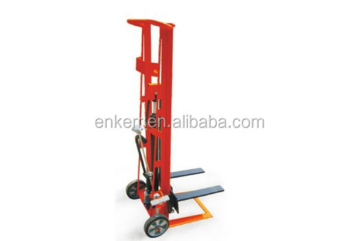 TWO WHEELED MANUAL HYDRAULIC FORK LIFTERS