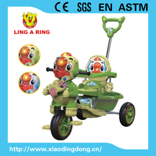 2016 Hot sale baby tricycle new models with music and light European standard CE lovely children tricycle with canopy kid's tric