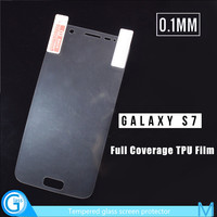 Full Cover Mobile Phone Cheapest Screen Guard for Samsung S7 edge