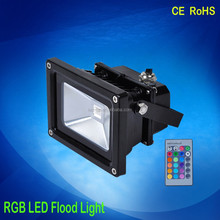 Buildings decoration Waterproof Multi Color Changing Outdoor RGB LED Flood Light