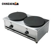Double Plates Whosale single plate commercial gas crepe maker