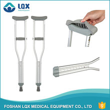 The best factory directly price crutch medical CE FDA height adjustable aluminum crutch for elderly / patient