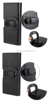 Two side open Phone case Leather Belt Clip cell phone housing Case Universal leather case