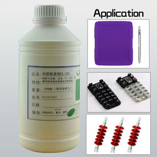 Heat curing silicone adhesive solvent based ge silicone