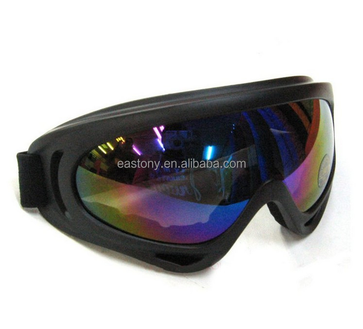 Outdoor Sports Snowmobile Motorcycle Bike Skiing Racing Single Lens UV Windshield Goggles Glasses