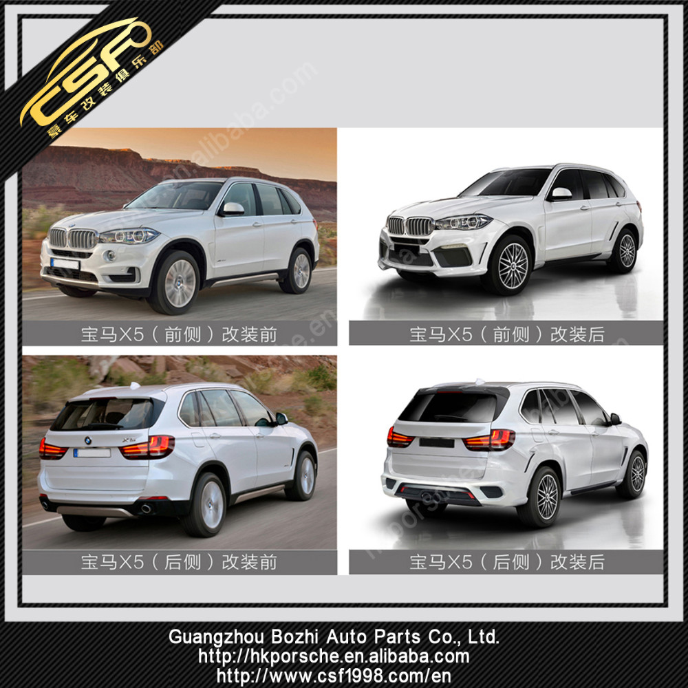 Sporty look body kit for X5 F15 in LD style with PRT