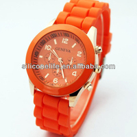 Hot sale! promotion jelly wrist waterproof ion silicone sport watch