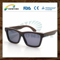 2015 hot sale wood Sunglasses bamboo sunglass factory