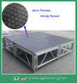 1.22*1.22 m Aluminum Height Adjustable Concert Stage With Anti-Slip Plywood