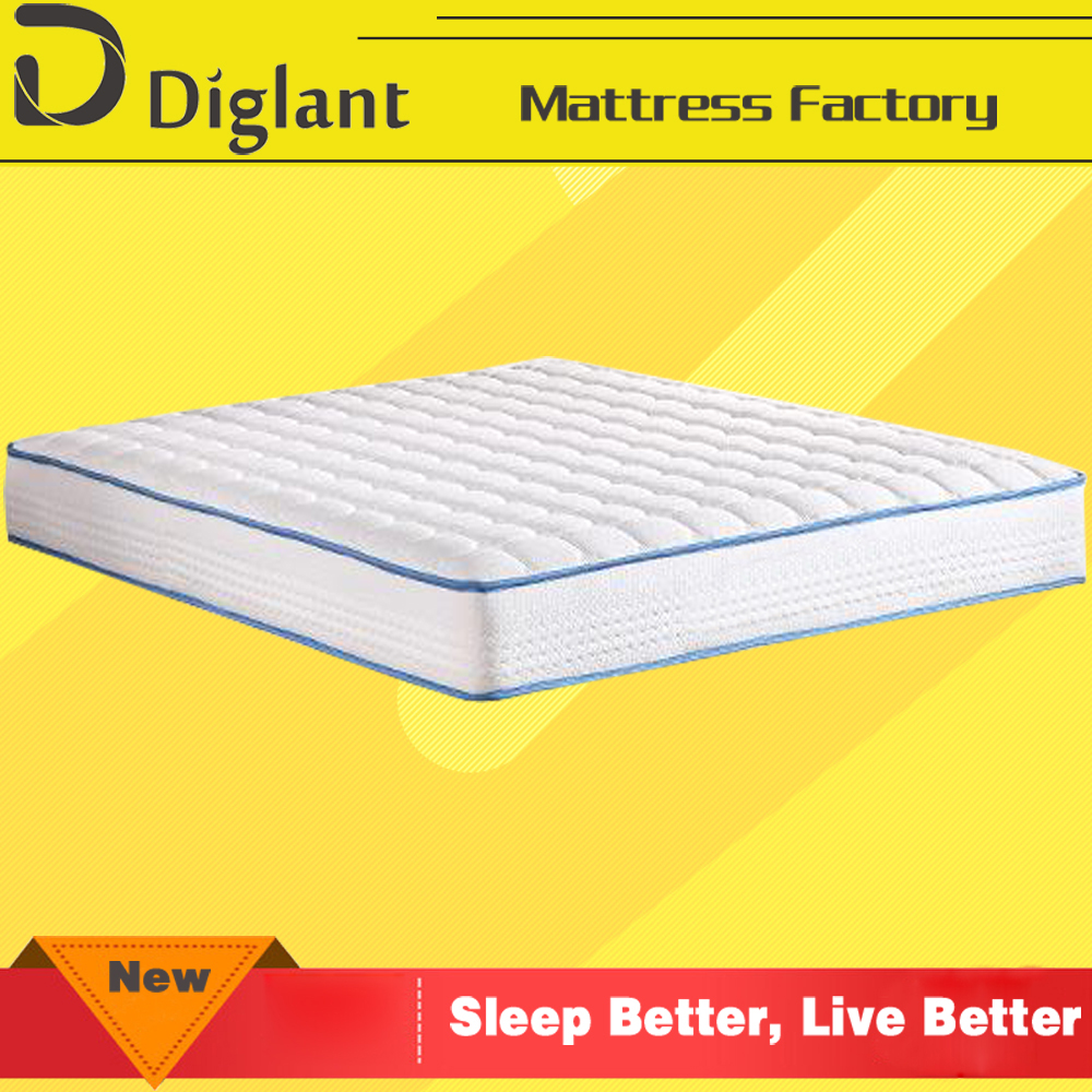 5 zone sponge spring comfortable single lifestyle bed roll mattress