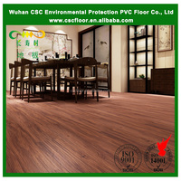 wood look waterproof click vinyl flooring, pvc click flooring