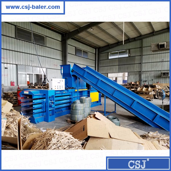 HSM quality waste cardboard press baler for sale