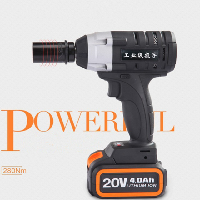Good price 21V Li-ion cordless electric impact wrench
