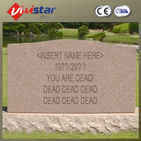 High Quality Granite Guitar Headstones/Monuments