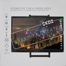 65 inch Interactive multi touch whiteboard tv CKPAD for education