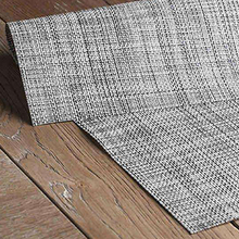 Woven pvc dining table mat plastic Placemat