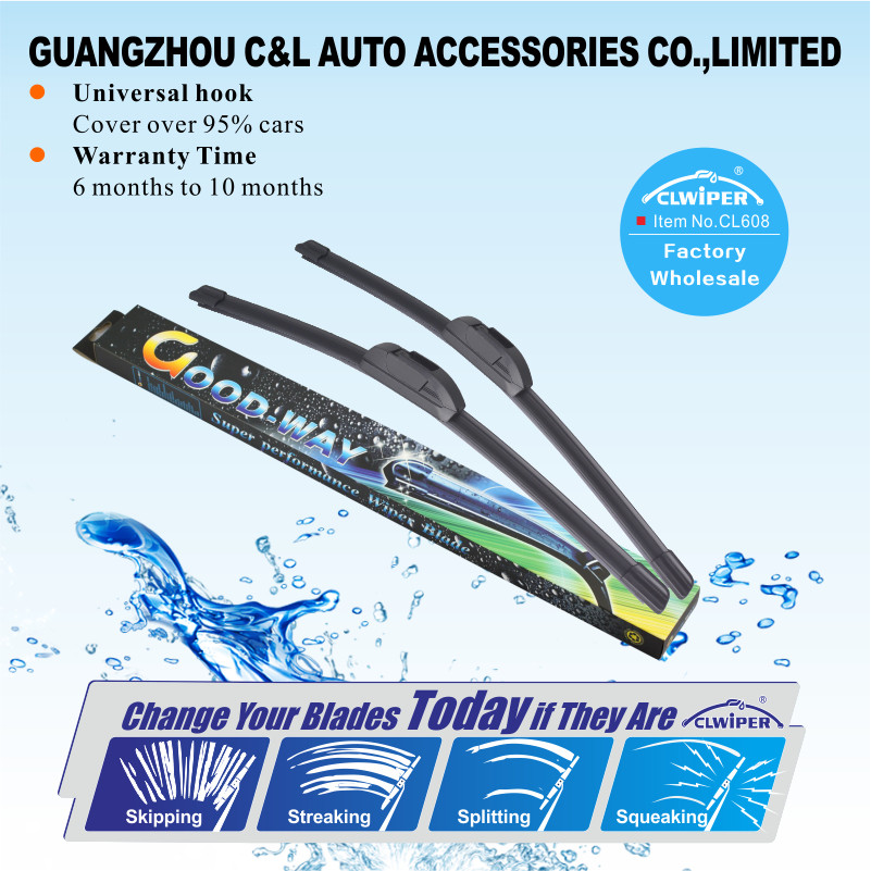 CL608 Factory 12''-26'' Improved Bosch type rain windscreen wiper