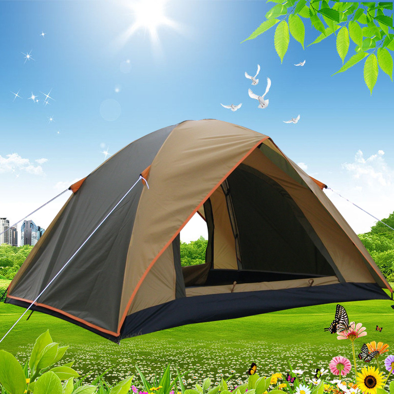 Hot sale printed Customized hiking portable Outdoor Traveling waterproof camping tent