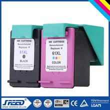 High Yield for HP 61 Ink Reset Cartridge with New Chip