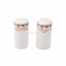 Shenzhen crockery porcelain kitchenware China crockery salt and pepper shakers ceramic