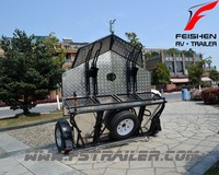 Folding Motorcycle Trailer newest