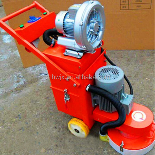 High efficiency concrete polishing machine with the ground is smooth