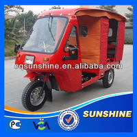 Nice Looking Fashion rickshaw tricycle with open body