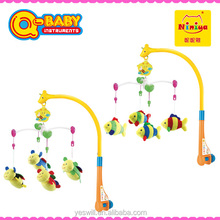 Funny wind up musical baby mobile,baby crib mobile hanger , baby mobile custom