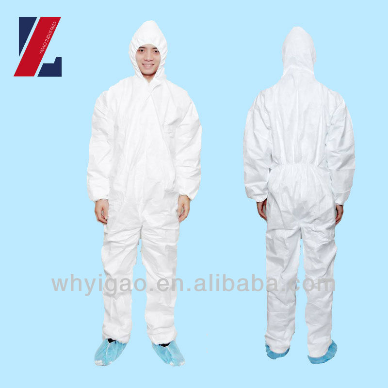 Disposable Non Woven Suit Type 5 6 Coverall
