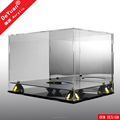 Acrylic Display Case Box For Sccoer With Mirror