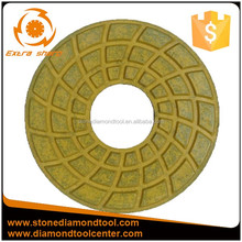 New Recommend Product Hexagon Resin Flexible Dry Polishing Pad For Granite And Marble