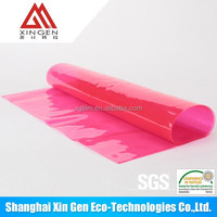 Red TPU film for glass table provention