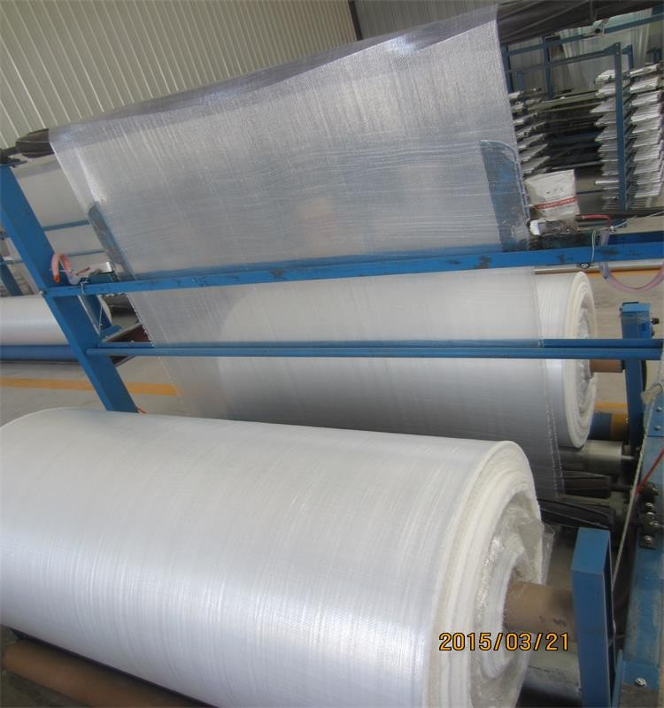 waterproof laminated PE film tarpaulin HDPE woven fabric for cargo coverage